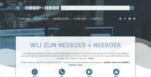 Nieuwe website Neeboer + Neeboer